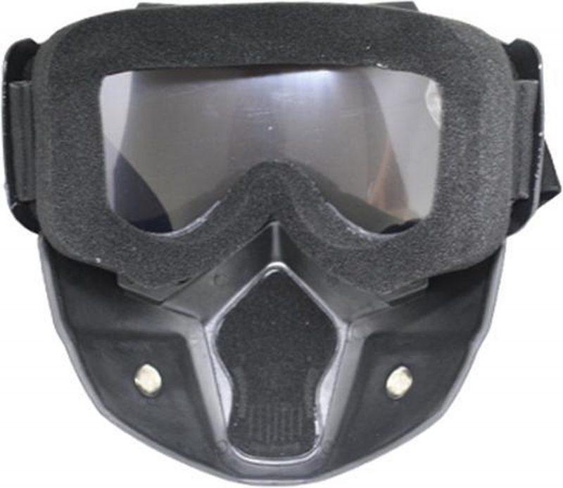 Skibril Dames Zwart : Skibril Heren Zwart Achterkant