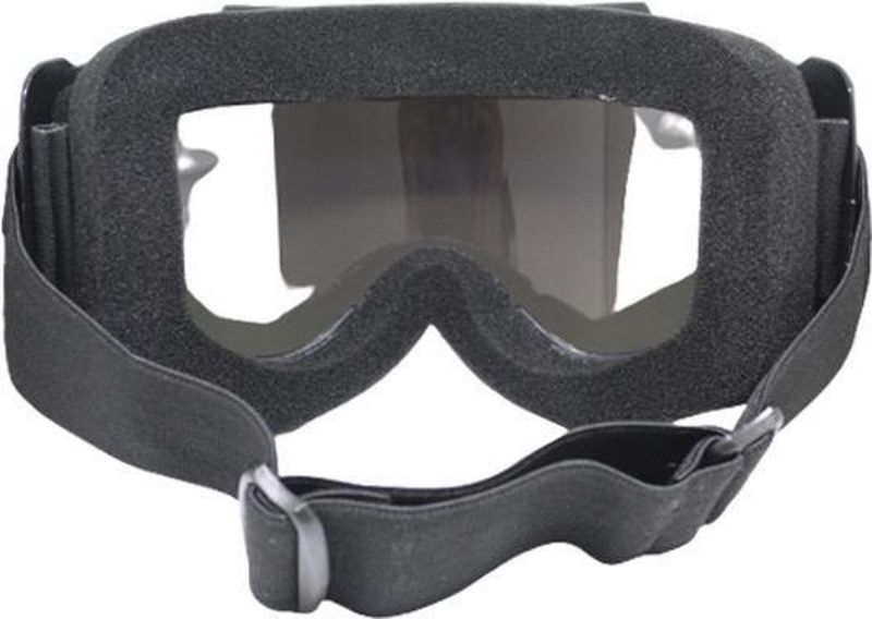 Skibril Dames Zwart : Skibril Heren Zwart Achterkant vizier