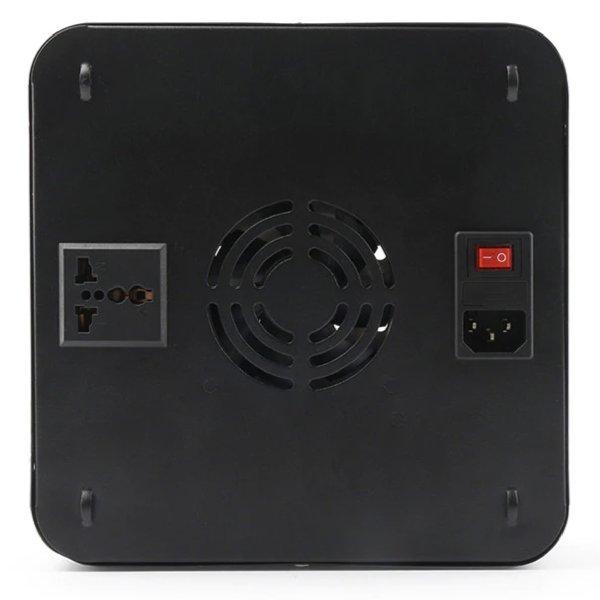 Hydrotec 600 Watt LED Kweeklamp Vierkant Zwart achterkant