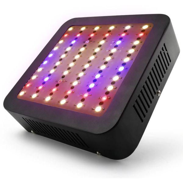 Hydrotec 600 Watt LED Kweeklamp Vierkant Zwart in werking