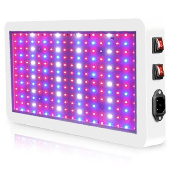 Grodt 100 Watt LED Groeilamp en Bloeilamp in Werking