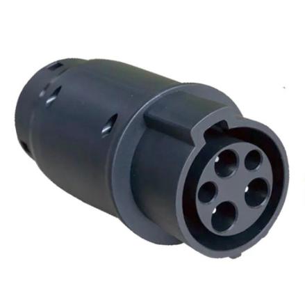 Type 1 naar Type 2 adapter 32A - Pro EV Laadpunt plug
